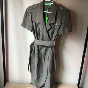 NWT Green linen dress